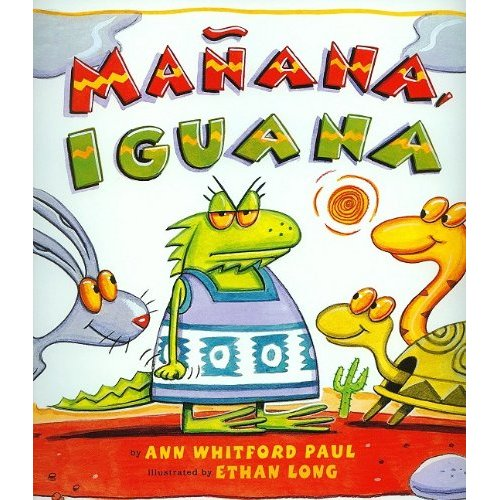 childrens audiobook mañana iguana