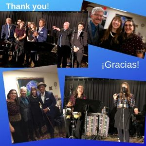 Sol y Canto 25th Anniversary Concert Photo collage