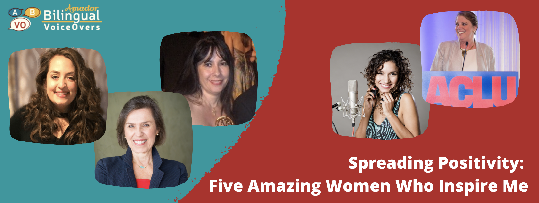 Amador Bilingual Voiceovers Women That Inspire Me