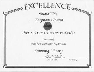 Amador Bilingual Voiceovers Earphones Award Ferdinand
