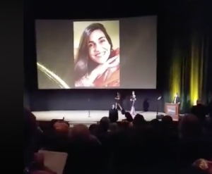 Amador Bilingual Voiceovers Rosi On Screen at Sovas Awards