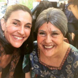 "Rosi Amador and Johanna Carlisle Zepeda, ""In the Heights"", Wheelock Family Theater"