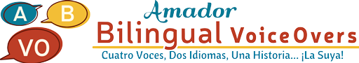 Amador Bilingual Voiceovers Spanish Branding Logo